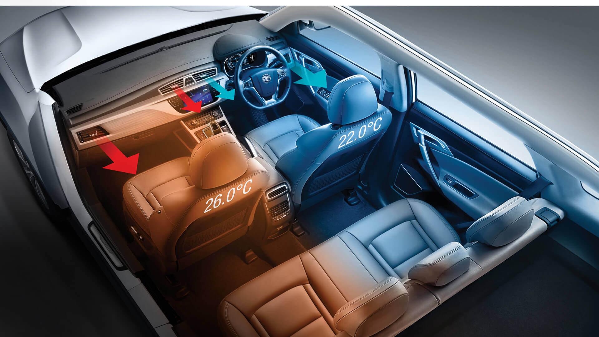 Proton Kenya: Auto Dual-Zone Air Conditioning