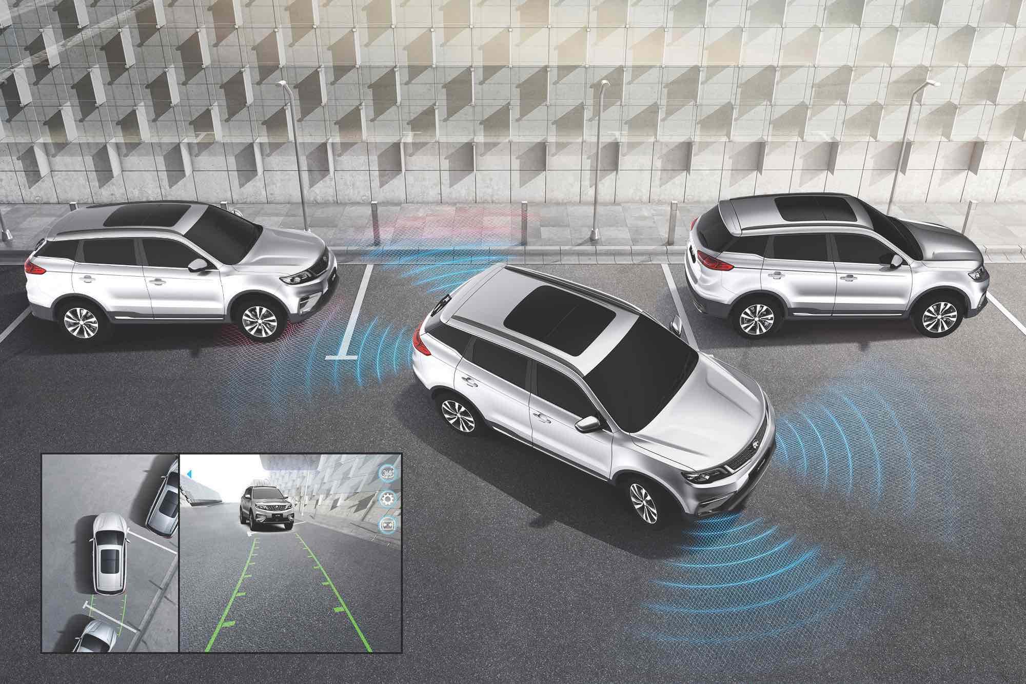 Proton Kenya: 360° Camera and Parking Sensors