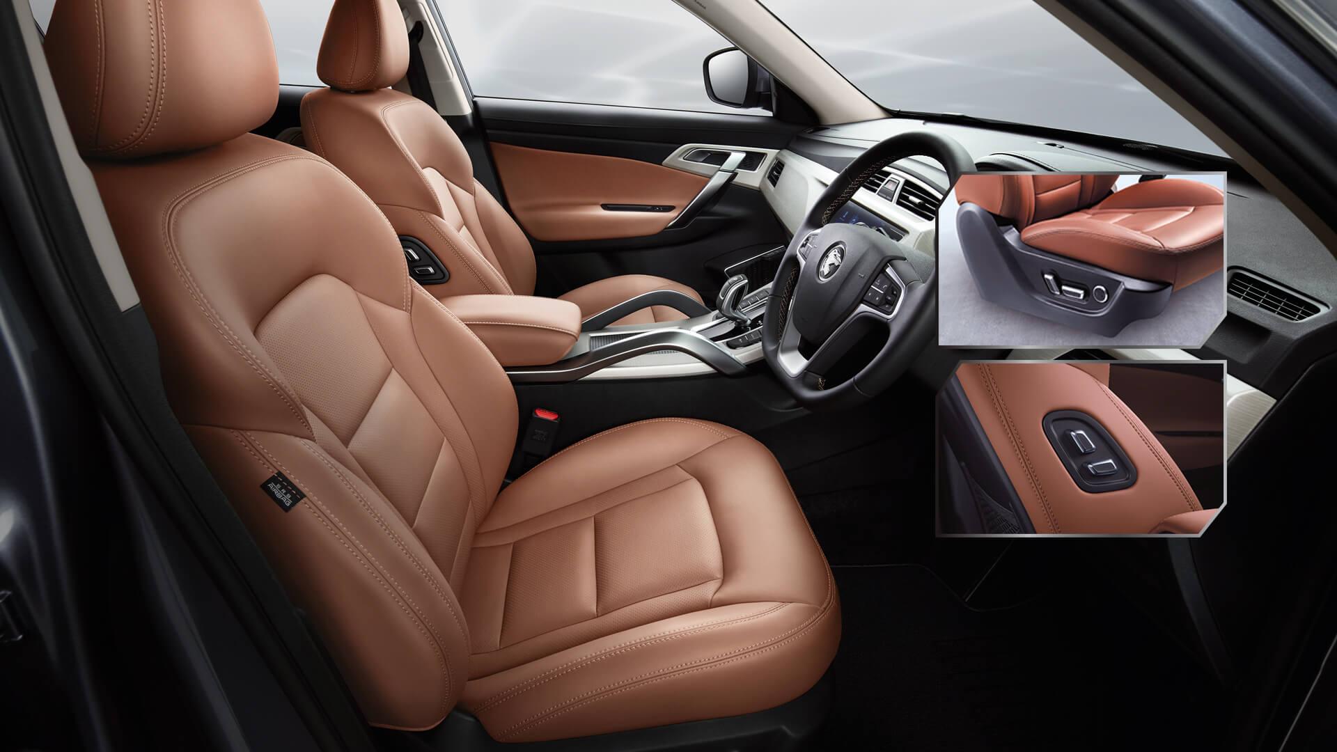 Proton Kenya: Nappa Leather Power Seats