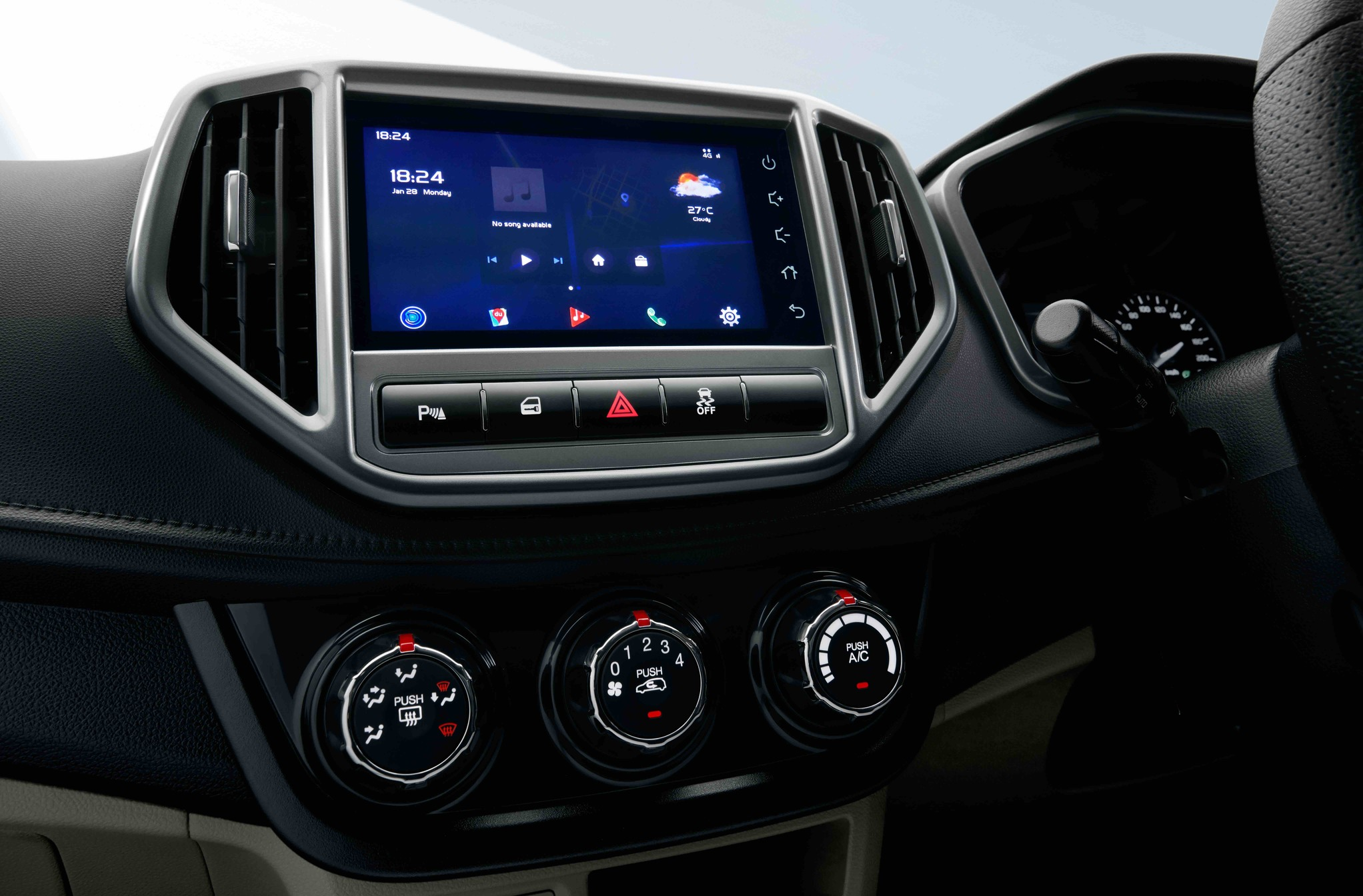 """Proton Kenya: 7"""" Touch Screen Monitor with 4G*, Wi-Fi*and Bluetooth Connectivity"""